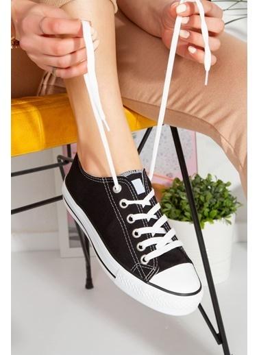 Derithy Vectorıe Sneaker-Lacıvert-Str1900 Siyah